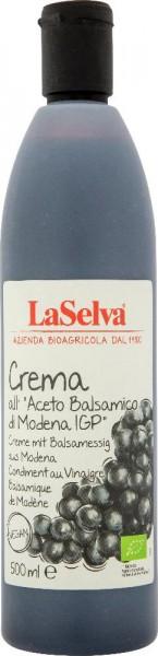 Creme mit Balsamessig aus Modena-Würzcreme mit Balsamessig aus Modena - 500ml