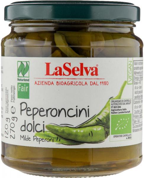 Milde Peperoni in Weinessig - 270g