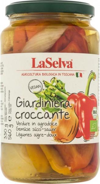 Giardiniera - Krokantes Gemüse süß-sauer - 560g