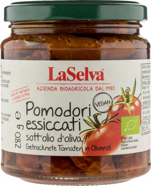 Getrocknete Tomaten in Olivenöl - 280g