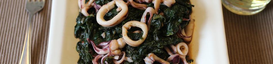 Hauptgerichte: Italienische Fischgerichte - italienische Gerichte mit Fisch und Meeresfrüchten