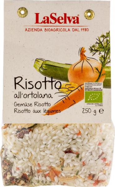 Gemüse Risotto - Trockenmischung mit Reis und Gemüse - 250g