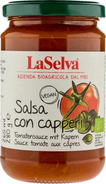Tomatensauce mit Kapern - Salsa con capperi - 280g