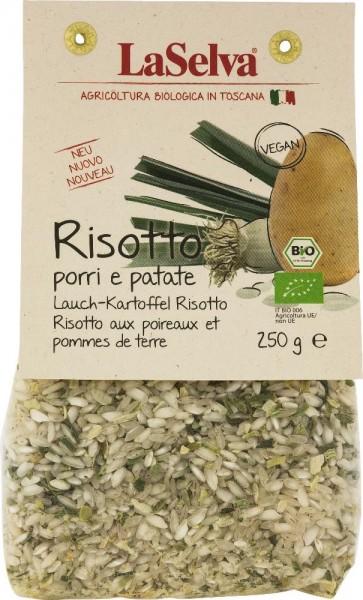Lauch-Kartoffel Risotto - Trockenmischung mit Reis und Gemüse - 250g