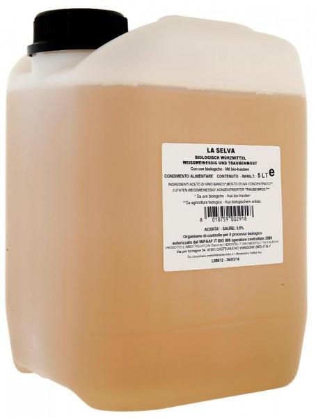 Heller Condimento - Würze aus Weißweinessig und Traubenmost - 5l