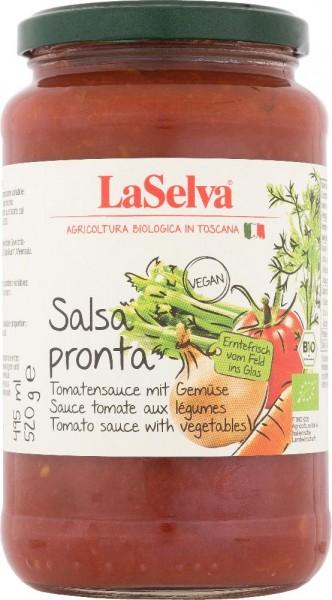 Salsa Pronta - Tomatensauce mit frischem Gemüse - 520g
