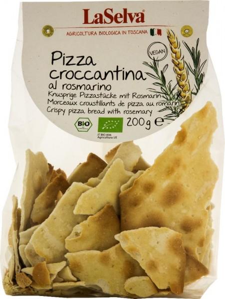 Pizza croccantina mit Rosmarin - Knusprige Pizzastücke mit Rosmarin - 200g