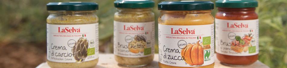 Bruschette & Gemüsecremes
