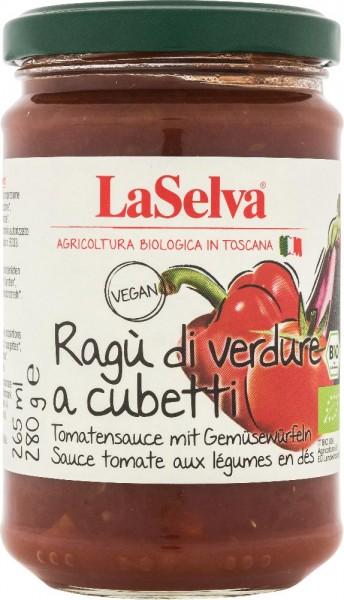 Tomatensauce mit Gemüsewürfeln - 280g