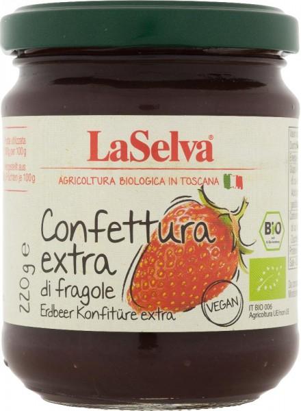 Erdbeer Konfitüre extra - 220g