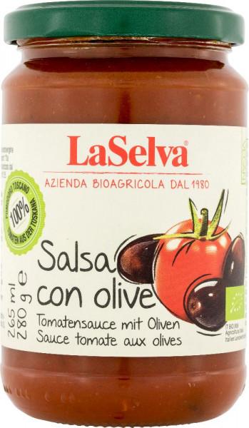 Tomatensauce mit Oliven - 280g