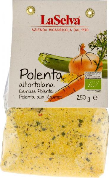 Gemüse Polenta - Zubereitung aus Maismehl und Gemüse - 250g
