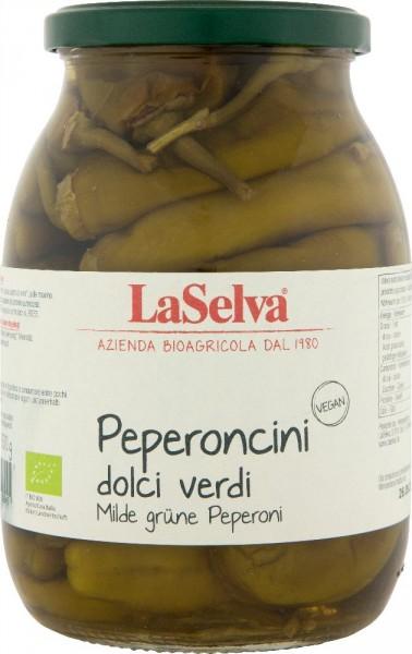 Milde grüne Peperoni sauer eingelegt - 930g