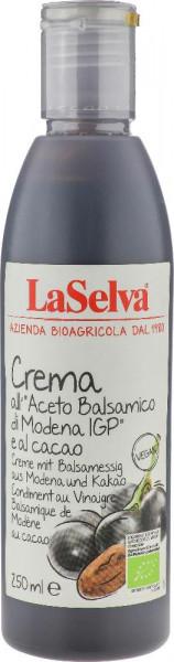 Creme mit Balsamessig aus Modena und Kakao - Würzcreme aus Balsamessig - 250ml