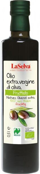 Natives Olivenöl extra - 100% aus Italien - FRUCHTIG - 0,5l
