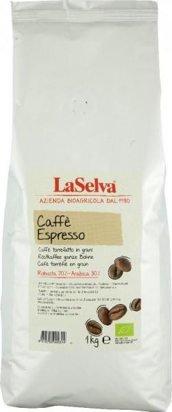 Caffè espresso - Röstkaffee ganze Bohne Robusta-Arabica - 1kg