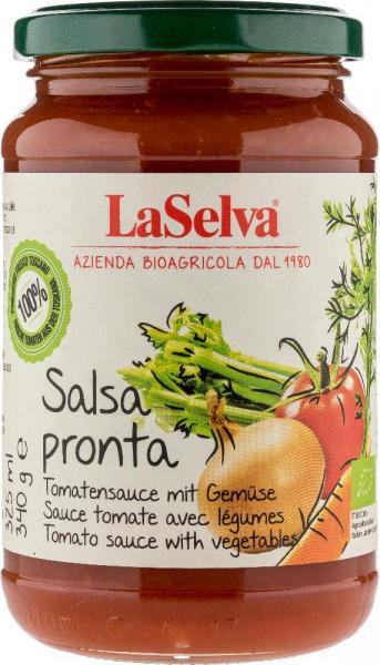 Salsa Pronta - Tomatensauce mit frischem Gemüse - 340g