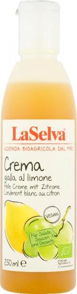 Helle Creme mit Zitrone - Würzcreme aus Weinessig mit Zitrone - 250ml