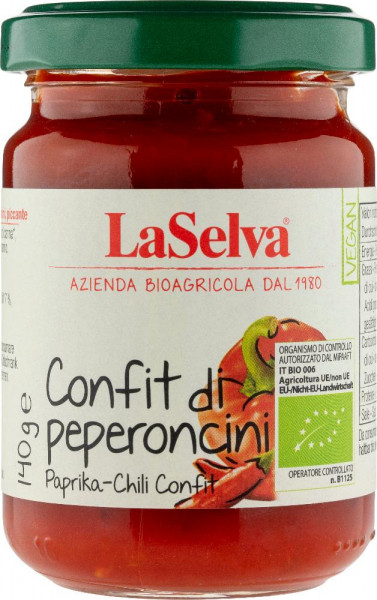 Paprika-Chili Confit - scharfe Zubereitung - 140g