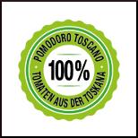 Tomaten aus der Toskana - zu 100 %