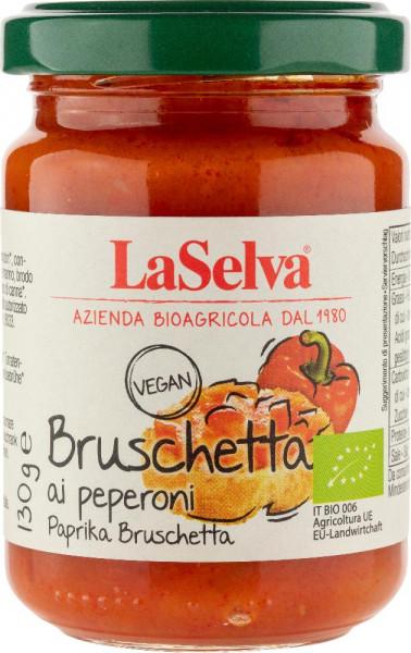 Paprika Bruschetta - Zubereitung aus Paprika - 130g