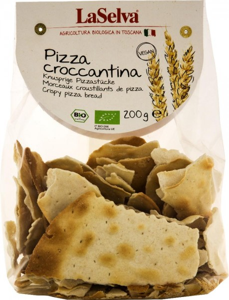 Pizza croccantina naturale - Knusprige Pizzastücke - 200g