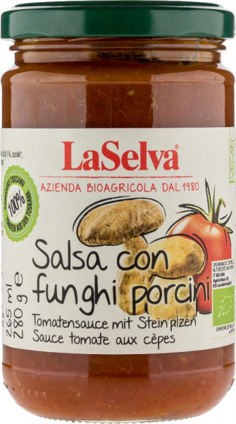 Tomatensauce mit Steinpilzen - 280g
