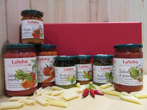 Pomodori e Pesti im Geschenkkarton