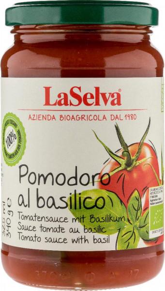 Tomatensauce mit frischem Basilikum - Pomodoro al basilico - 340g