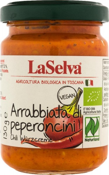 Arrabbiata di Peperoncini - Würzcreme aus Chili und Paprika - 130g