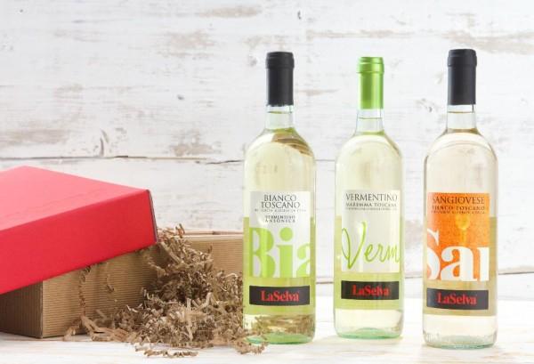 I tre Bianchi im Geschenkkarton