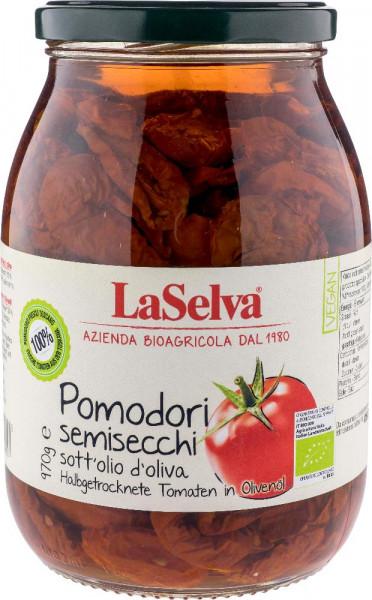 Halbgetrocknete Tomaten in Olivenöl - 970g